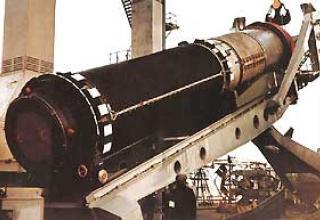 Баллистическая ракета подводных лодок Р-39 (РСМ-52)