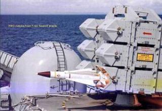 Зенитно-ракетный комплекс Sea wolf