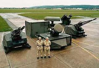 Зенитный ракетно-артиллерийский комплекс Skyshield-ADATS