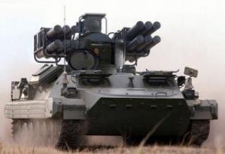 Зенитный ракетный комплекс 'Сосна'
