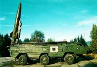 Тактический ракетный комплекс 9К79-1 Точка-У