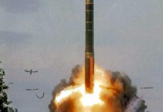 Межконтинентальная баллистическая ракета 15Ж65 Тополь-М (РС-12М2)
