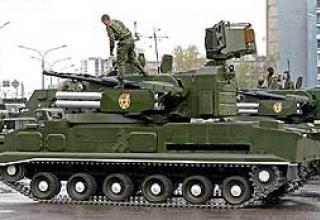 Зенитный ракетно-пушечный комплекс 2К22 Тунгуска