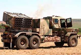 127-мм реактивная система залпового огня Valkiri Mk.II ( Bataleur )