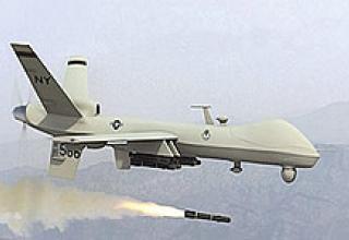 Трое человек были убиты в результате сегодняшнего ракетного удара американских беспилотных самолетов в Пакистане