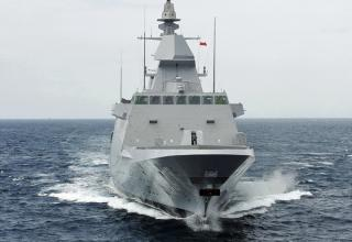 Фрегат Мохаммед VI будет передан ВМС Марокко 30 января 2014г.