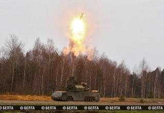 В Белоруссии проведены первые боевые пуски из ЗРК Тор-М2