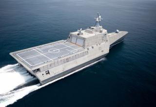 Успешное испытание ракеты NSM с борта корабля прибрежной зоны CORONADO ВМС США