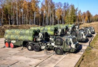 Вооруженным силам досрочно передан восьмой комплект С-400
