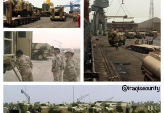 Новые поставки ТОС-1А в Ирак