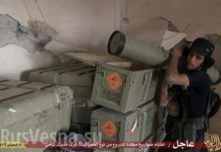 Иракская армия оставила исламистам новейшие ПТРК «Корнет-Э»