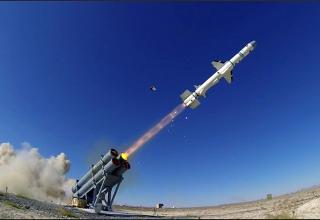 Испытания турецкой противокорабельной ракеты Atmaca