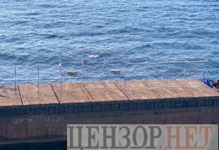 """Первое испытание украинской ракеты """"Нептун"""" с установленной головкой самонаведения"""
