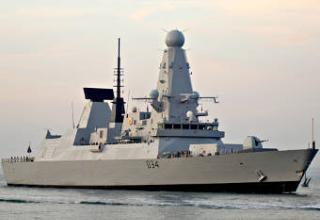 Великобритания приняла на вооружение эсминец класса D