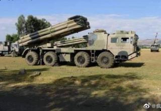 РСЗО с БМ AR2 находится на вооружении армии Эфиопии