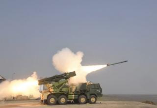 В Индии успешно выполнена стрельба РС с увеличенной дальностью полёта для РСЗО Pinaka