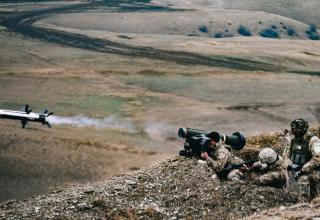 11-й пехотный батальон ВС Грузии проходит заключительную подготовку по обеспечению готовности к обороне