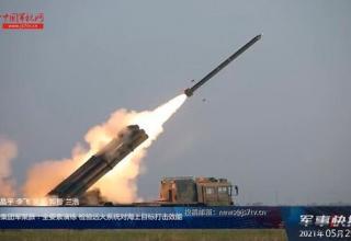 Военнослужащие НОАК обучаются стрельбе из БМ РСЗО и ПУ ПТРК по морским целям